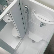 Combibox II duširuum, wc